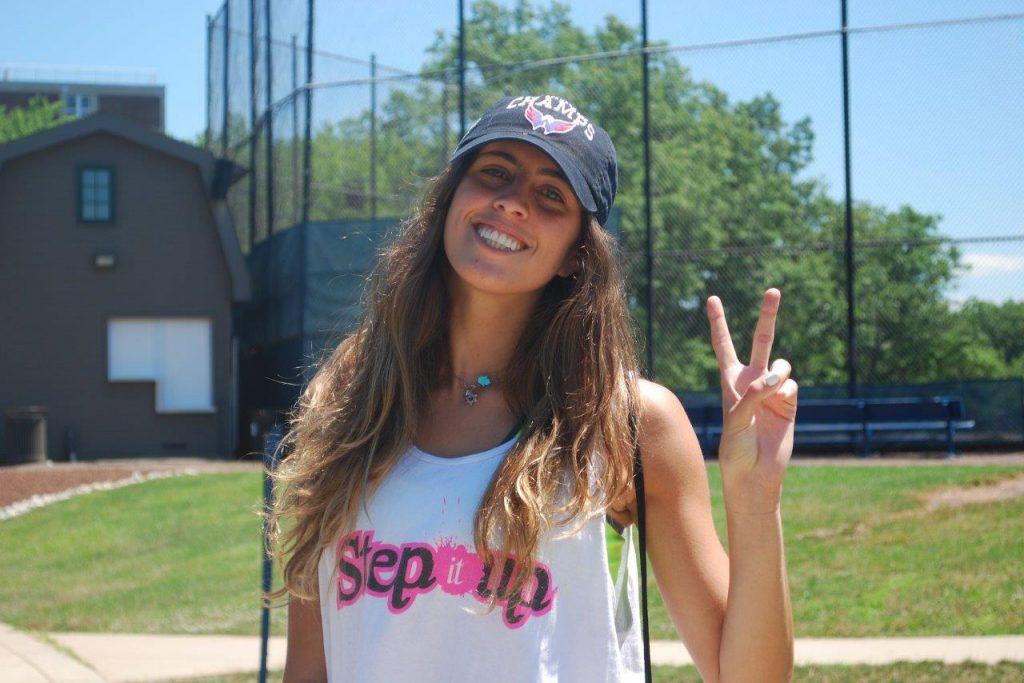 שחקנית כדורסל Step It Up
