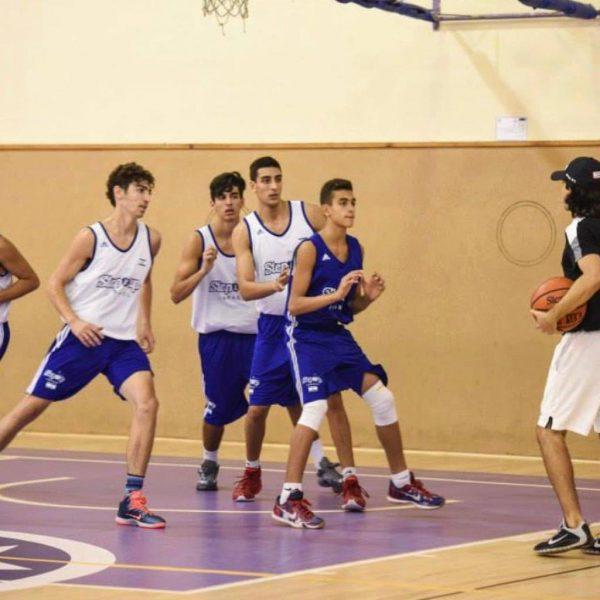 אימון כדורסל עם יוגב ברדוגו